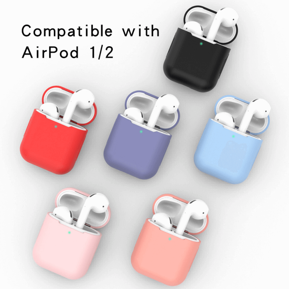 Estuche / Forro Silicone Case para AirPods 1/2 - Enjoy it Market