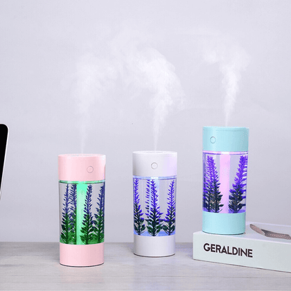 Humidificador Lavanda con luz LED - Enjoy it Market
