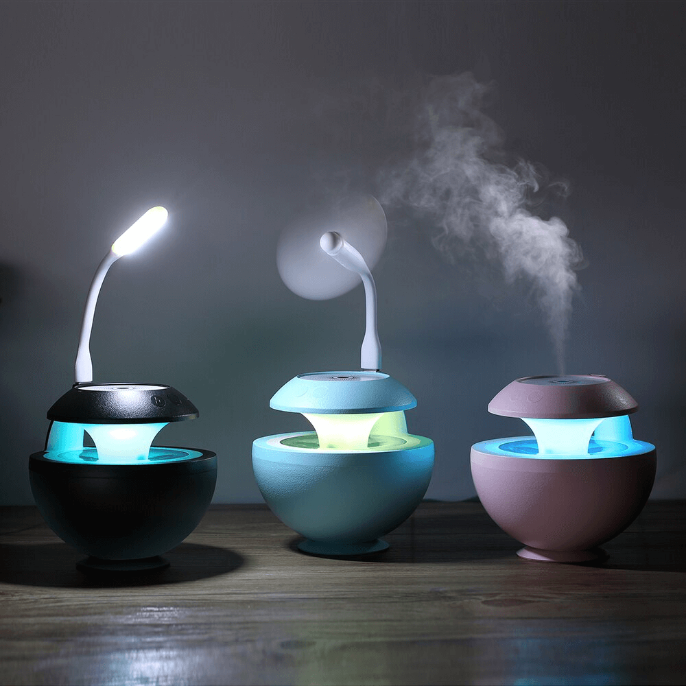Humidificador Proyector 7 Modos de Iluminación Luz LED - Enjoy it Market