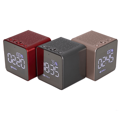 Reloj Despertador Parlante Inalámbrico Bluetooth Portátil Samtronic ML 111 - Enjoy it Market