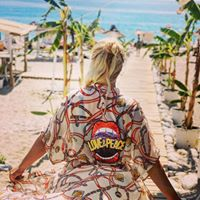 Beach kimono Love and Peace
