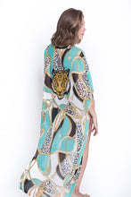 Load image into Gallery viewer, Beach kimono Tiger