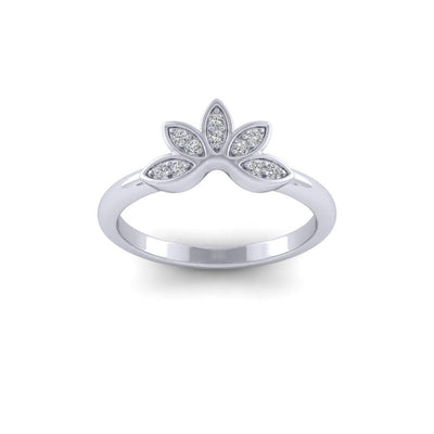 Caroline Diamond Ring White Gold Jessica Wilson Design