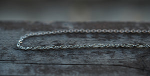 Add Chain - Textured Loop Cable Style Chain - Choose Your Length