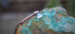 The Lizzie - Mini Axe Necklace