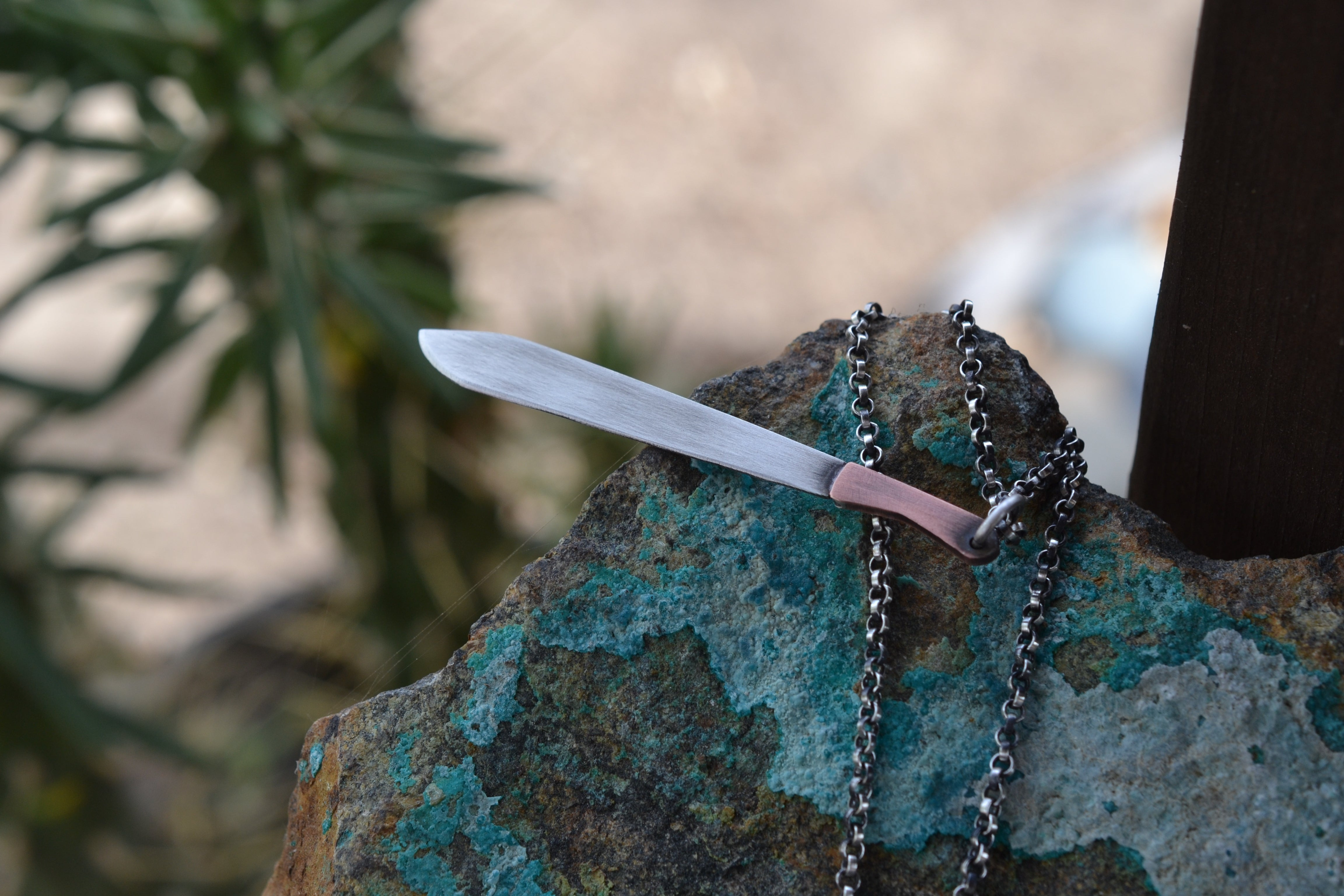 The Trejo - Mini Machete Necklace - Machete Dont Text