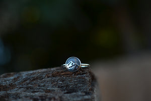 The Evergreen Collection - ONE Sterling Silver Mountain Range Ring
