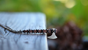 The Ragnar -Viking Battle Ax Necklace