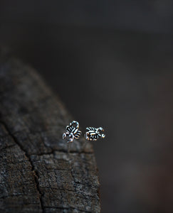 Tiny Scorpion Studs - Sterling Silver