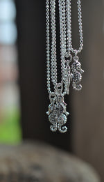 Fan Favorites - ONE Seahorse Charm necklace - Sterling Silver