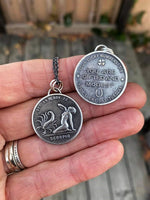 NEW! Double Sided Good Luck Horoscope Charms - Zodiac Sign Pendant. Fan Favorites