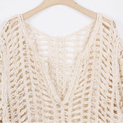 Laci Netted Beach Cover Up