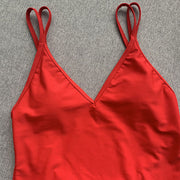 Stephanie Double Straps Swim Suit