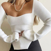 Sabina Off Shoulder Knit Dress