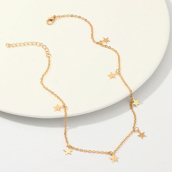 Desiree Mini Stars Choker Necklace