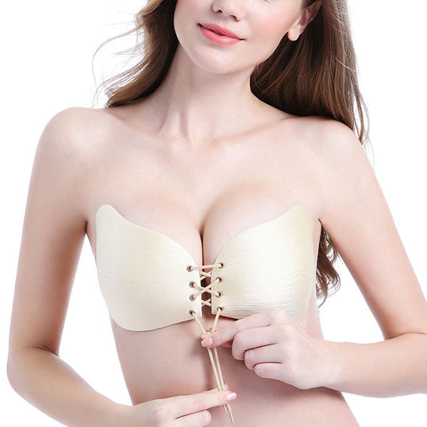Denise Gel Silicone Push Up Invisible Bra