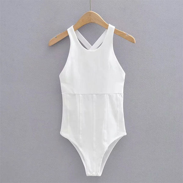Gina Cross Back Bodysuit