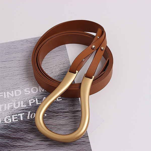 Becca Double Layer Buckle Belt