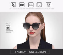 Load image into Gallery viewer, AOFLY BRAND DESIGN Cat Eye Sunglasses - Sunglass Associates,Sunglasses Online, Sunglass Deals, Sunglassassociates, www.sunglassassociates.com