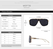 Load image into Gallery viewer, MERRYS DESIGN Big Frame Men's Sunglasses - Sunglass Associates,Sunglasses Online, Sunglass Deals, Sunglassassociates, www.sunglassassociates.com