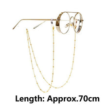 Load image into Gallery viewer, Hanging Chain For Sunglasses - Sunglass Associates,Sunglasses Online, Sunglass Deals, Sunglassassociates, www.sunglassassociates.com  pilot, cat eye, kids, men, adult, vintage, free shipping