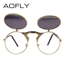 Load image into Gallery viewer, AOFLY Men's Steampunk Sunglasses - Sunglass Associates,Sunglasses Online, Sunglass Deals, Sunglassassociates, www.sunglassassociates.com