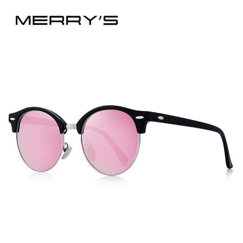 MERRYS DESIGN Women's Retro Rivet Polarized Sunglasses - Sunglass Associates,Sunglasses Online, Sunglass Deals, Sunglassassociates, www.sunglassassociates.com