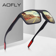 Load image into Gallery viewer, AOFLY DESIGN Ultralight TR90 Polarized Mens Sunglasses - Sunglass Associates,Sunglasses Online, Sunglass Deals, Sunglassassociates, www.sunglassassociates.com
