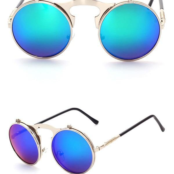 Retro Punk Metal Sunglasses - Sunglass Associates,Sunglasses Online, Sunglass Deals, Sunglassassociates, www.sunglassassociates.com