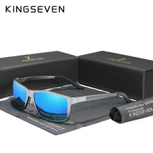 Load image into Gallery viewer, KINGSEVEN Men's Aluminum Magnesium Polarized Sunglasses - Sunglass Associates,Sunglasses Online, Sunglass Deals, Sunglassassociates, www.sunglassassociates.com
