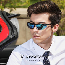 Load image into Gallery viewer, KINGSEVEN Driving Series Polarized Men Aluminum Sunglasses - Sunglass Associates,Sunglasses Online, Sunglass Deals, Sunglassassociates, www.sunglassassociates.com  pilot, cat eye, kids, men,