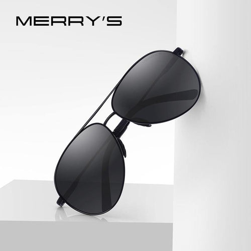 MERRYS DESIGN Men's Classic Pilot Polarized Sunglasses - Sunglass Associates,Sunglasses Online, Sunglass Deals, Sunglassassociates, www.sunglassassociates.com