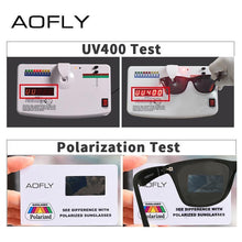Load image into Gallery viewer, AOFLY Ultralight TR90 Polarized Men's Sunglasses - Sunglass Associates,Sunglasses Online, Sunglass Deals, Sunglassassociates, www.sunglassassociates.com  pilot, cat eye, kids, men, adult, vin