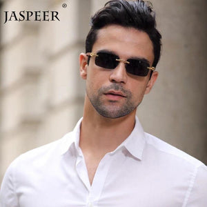 JASPEER Men's Punk Rimless Rectangle Sunglasses Ships From A United States Supplier - Sunglass Associates,Sunglasses Online, Sunglass Deals, Sunglassassociates, www.sunglassassociates.com