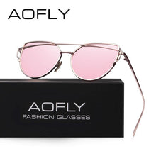 Load image into Gallery viewer, AOFLY Brand Fashion  Women's Sunglasses - Sunglass Associates,Sunglasses Online, Sunglass Deals, Sunglassassociates, www.sunglassassociates.com