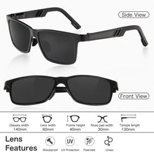 Load image into Gallery viewer, Mens Aluminum Magnesium Polarized Sunglasses - Sunglass Associates,Sunglasses Online, Sunglass Deals, Sunglassassociates, www.sunglassassociates.com