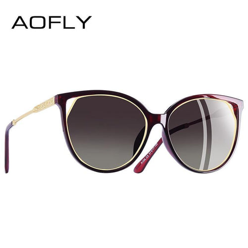 AOFLY BRAND DESIGN Women's Cat Eye Sunglasses - Sunglass Associates,Sunglasses Online, Sunglass Deals, Sunglassassociates, www.sunglassassociates.com