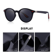 Load image into Gallery viewer, MERRYS DESIGN Men Classic Retro Rivet Polarized Sunglasses - Sunglass Associates,Sunglasses Online, Sunglass Deals, Sunglassassociates, www.sunglassassociates.com