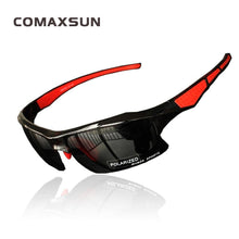 Load image into Gallery viewer, COMAXSUN Polarized Cycling Glasses - Sunglass Associates,Sunglasses Online, Sunglass Deals, Sunglassassociates, www.sunglassassociates.com