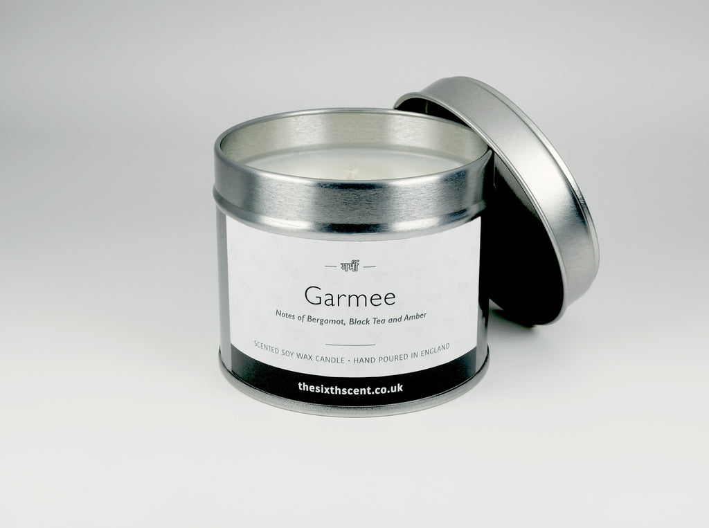 Garmee Scented Tin Candle