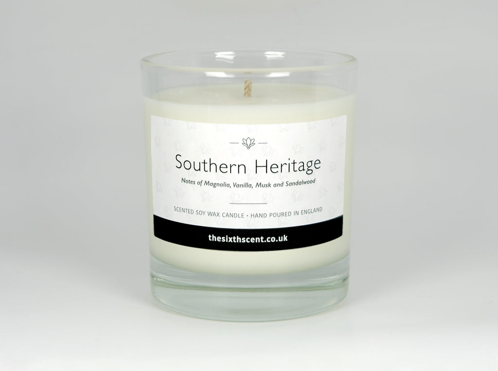 Southern Heritage Scented Glass Candle