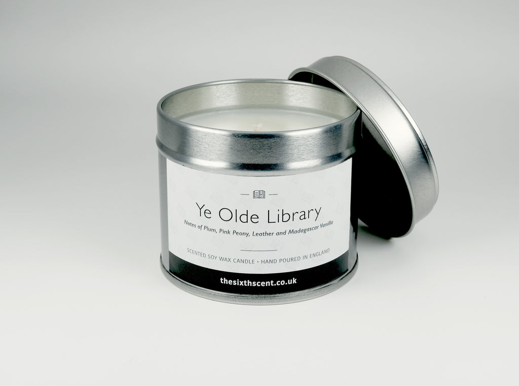 Ye Olde Library Scented Tin Candle