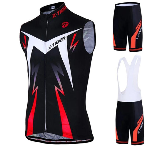 Quick-Dry Sleeveless Cycling Set - DexterCycling