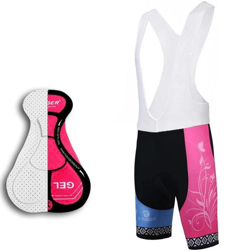 100% Lycra Bicycle Bib Shorts - DexterCycling