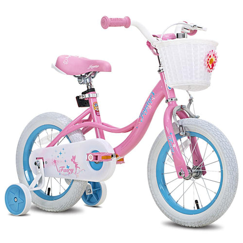 Kids Bike with Basket & Training Wheels