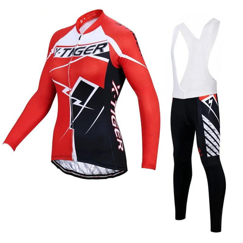 Autumn Women Cycling Jersey Set - DexterCycling