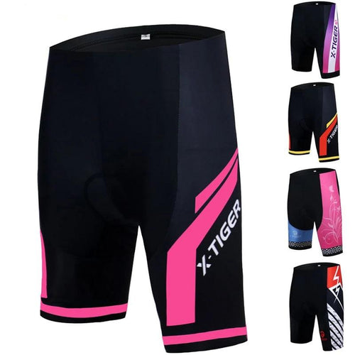 Women 3D Gel Padded Cycling Shorts - DexterCycling