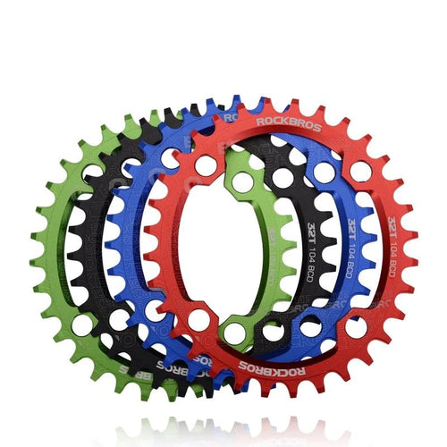 Oval Round Bicycle Crank & Chain 104BCD Shifter - DexterCycling