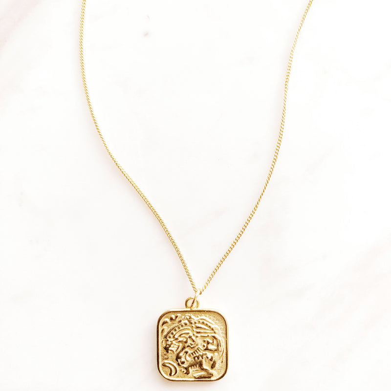 Ceylon Two-Way Vermeil Necklace