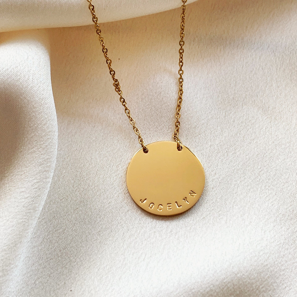 Aerin Disc Necklace